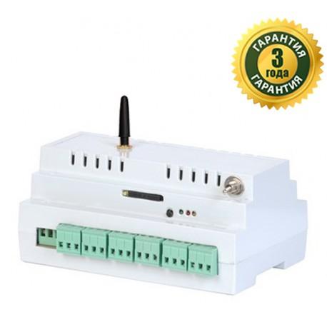GSM-розетка 6 каналов (DIN) фото 1