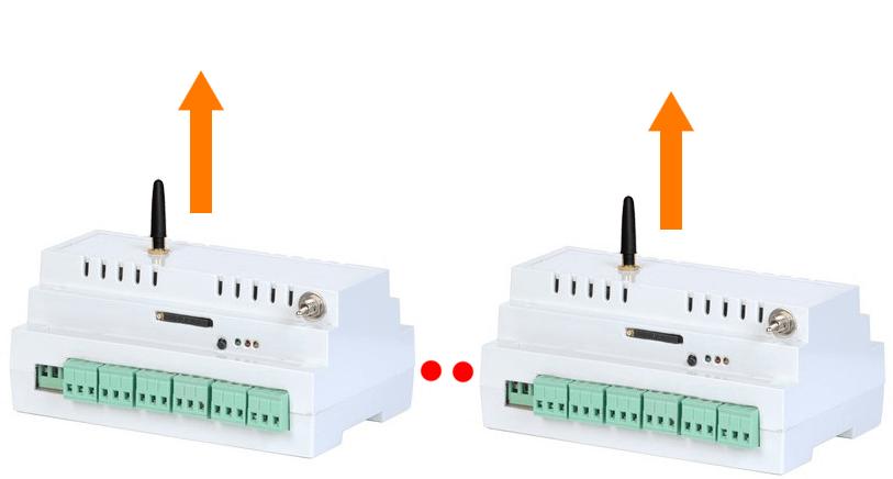 HUB с выходом в интернет с подключением исполнительных модулей - 2