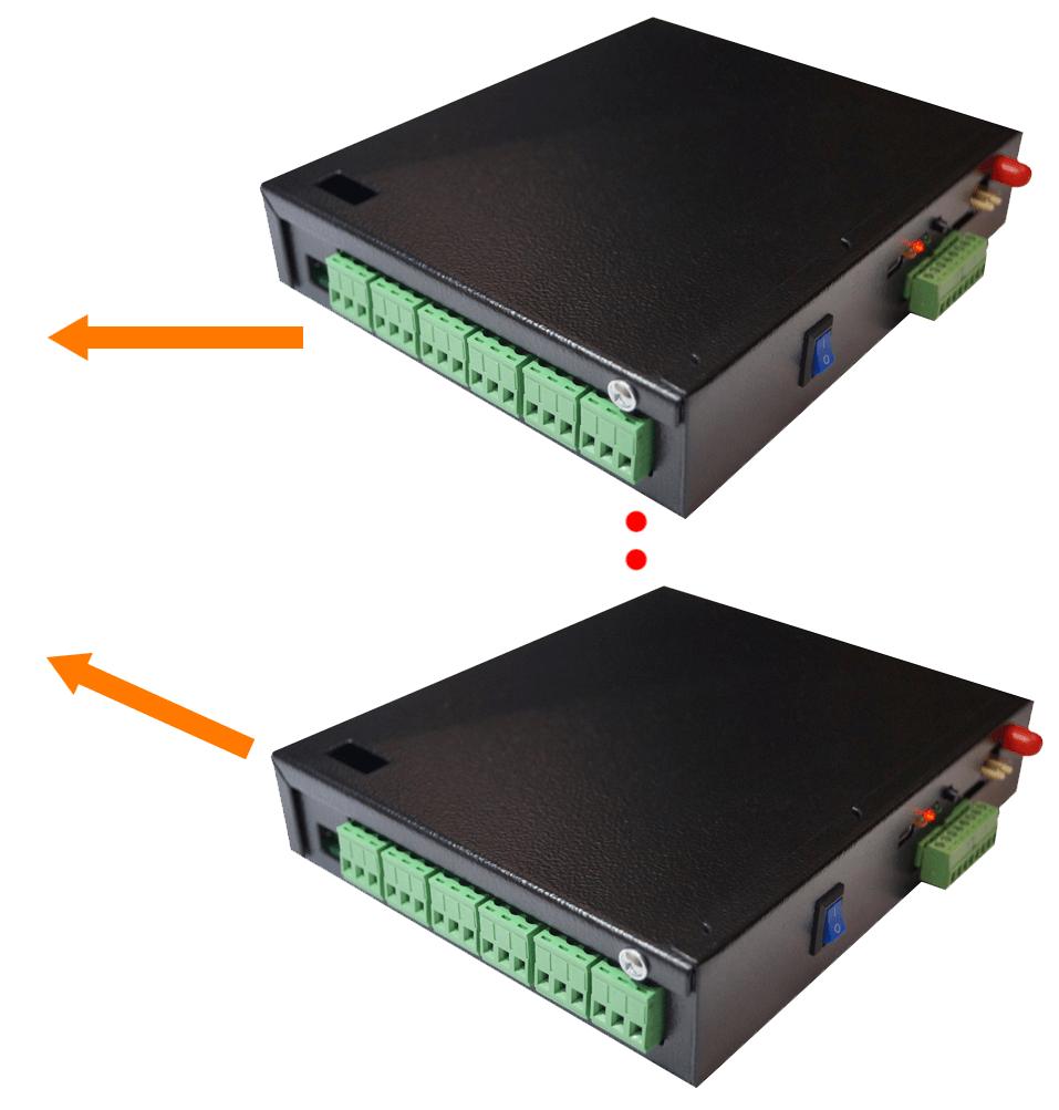 HUB с выходом в интернет с подключением исполнительных модулей - 1